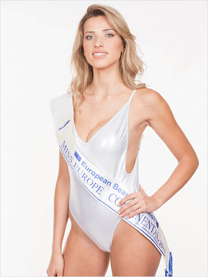 Miss Europe Continental 2018 Araceli del Cont