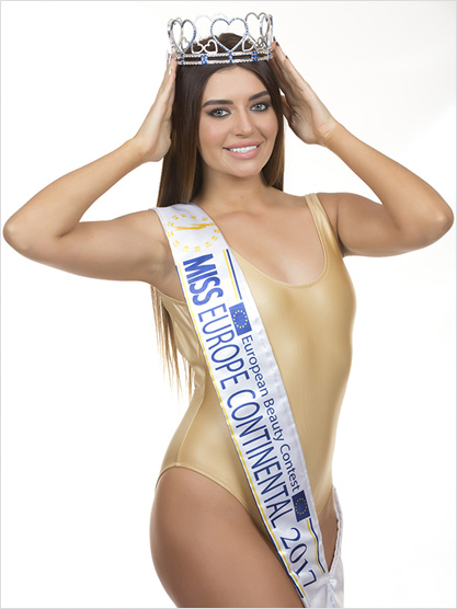 Miss Europe Continental 2017 Natalia Varchenko