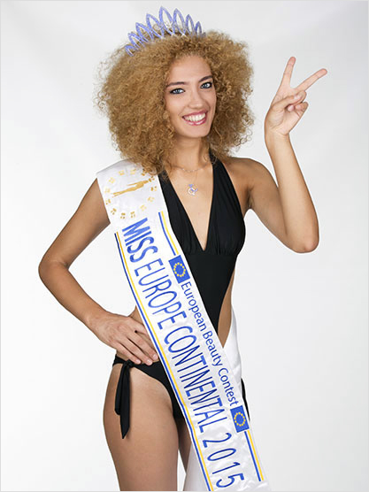 Miss Europe Continental 2015 Lindita Idrizi