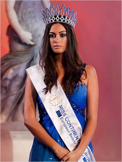 Miss Europe Continental 2013 Serena Petralia