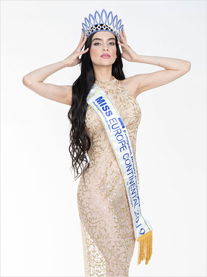 Miss Europe Continental 2019 Sara Taheri