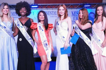 Here are the top 8 finalists of Miss Europe Continental Belgium 2019