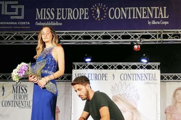 Miss Europe Continental Sicily: it was another evening of beauty and entertainment in Marina di Palma