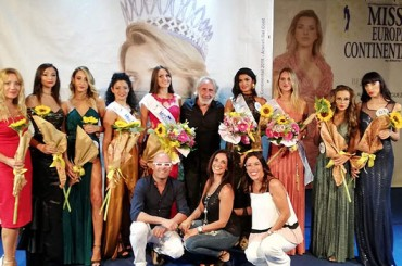 Success also confirmed at Sortino in the province of Syracuse for Miss Europe Continental Sicilia