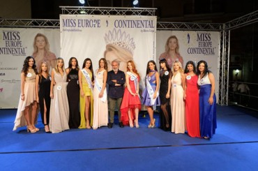Riesi, boom of presences and emotions for Miss Europe Continental