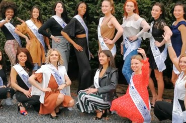 Video: the finalists of Miss Europe Continental Belgium 2019
