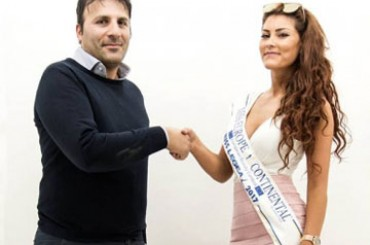 Belinda Cerini, from Miss Europe Continental to the protagonist of the new LEGEA collection