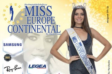 "Saturday in Rende the ""Miss Europe Continental"" Selection"