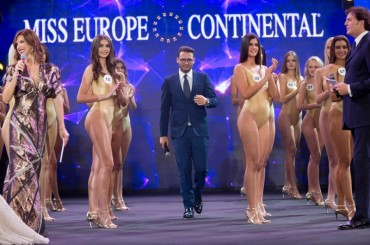 Miss Europe Continental never ceases to amaze, the final again in Naples