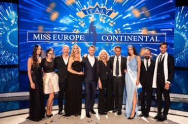 Miss Europe Continental 2018, parade of stars at the national final