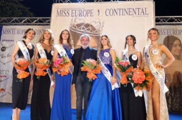 Miss Europe Continental 2018 Italy is Neapolitan and will be among the European finalists on November 24th