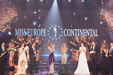 Success for Miss Europe Continental 2018