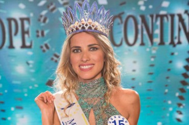 Araceli Del Cont elected Miss Europe Continental 2018