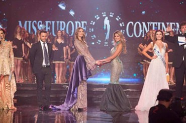 At Miss Europe Continental 2018 Bosnia wins