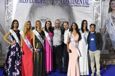 Beauty protagonist in Bordighera, in the first provincial selection for Miss Europe Continental Liguria