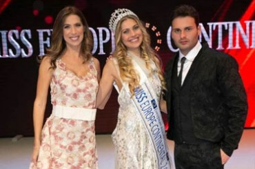 Miss Europe Continental 2017, conquers the heart of Naples and Fashion TV!