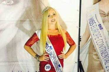 Ventimigliese Linda Massaro is Miss Europe Continental Liguria 2017