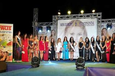 Nadine Gambino is Miss Europe Continental of Licata