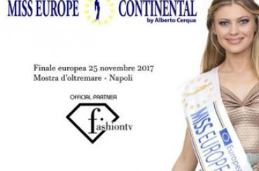 Naples – Beauty, charm, red carpet and vip here is the European Grand Final of Miss Europe Continental 2017