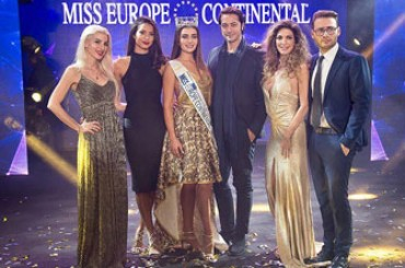 Miss Europe Continental 2017: great success at Naples's Mediterranean Theater