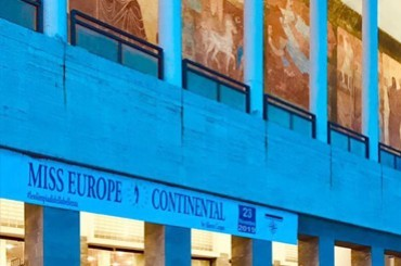Naples - Miss Europe Continental 2019 arrives at the Mediterranean Theater