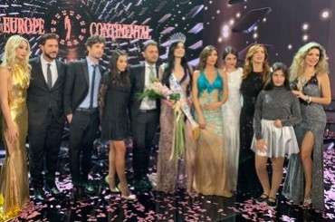 Sparkling night for the grand final of the seventh edition of Miss Europe Continental