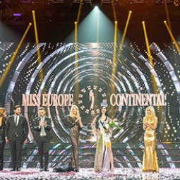 Miss Europe Continental, among VIPs and beauties, wins France