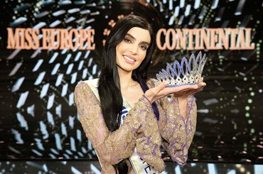 Sara Taheri is Miss Europe Continental 2019