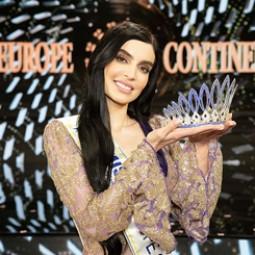 Sara Taheri is Miss Europe Continental 2019