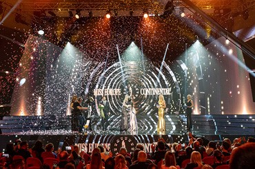 A sparkling and stellar night for the seventh edition of Miss Europe Continental 2019, for the European finals