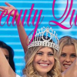 Our Miss on the cover of Beauty Queens Magazine