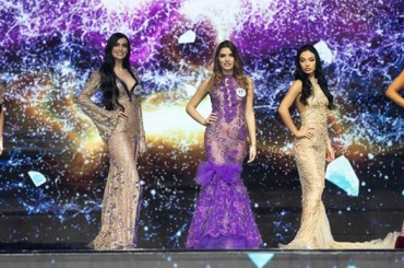 The Top 5 of Miss Europe Continental