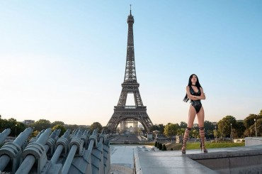 Shooting of Queen Sara Taheri in Paris