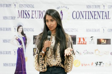 Auditions for Miss Europe Continental Sri Lanka