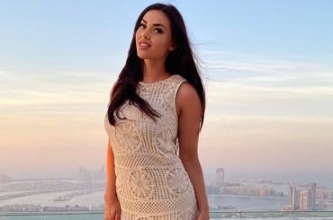 Our stunning Miss Elina in Dubai
